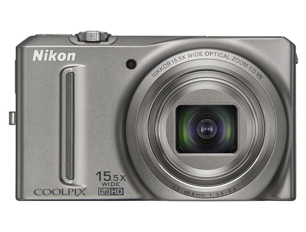 Used,Nikon COOLPIX S9050 12.1MP Digital Camera with 15.5x Optical Zoom