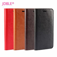 JDBLE Real Genuine Leather Flip Cover For HUAWEI P8 MAX P9 P9Lite Business Cases For Huawei