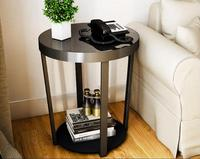 50 57cm Tempered Glass Coffee Table Tea Table Side Tables