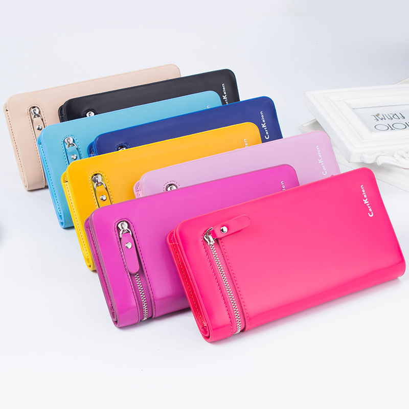 2017 Hot Fashion Female Wallets High Quality PU Leather Card Holder Women Long Style Coin Pocket Woman Capacity Clutch Purse Bag wallet female pu leather key wallets high quality hasp housekeeper clutch key holder bag soft long purse credit card holder b789