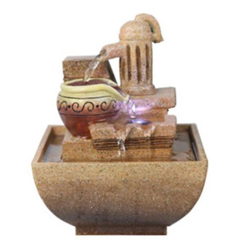 Decorativas Fuentes De Agua Interiores Decoración Oficina Escritorio Regalo  Humidificación Artificial Piedras Artesanía En Estatuillas Y Miniaturas De  Hogar ...