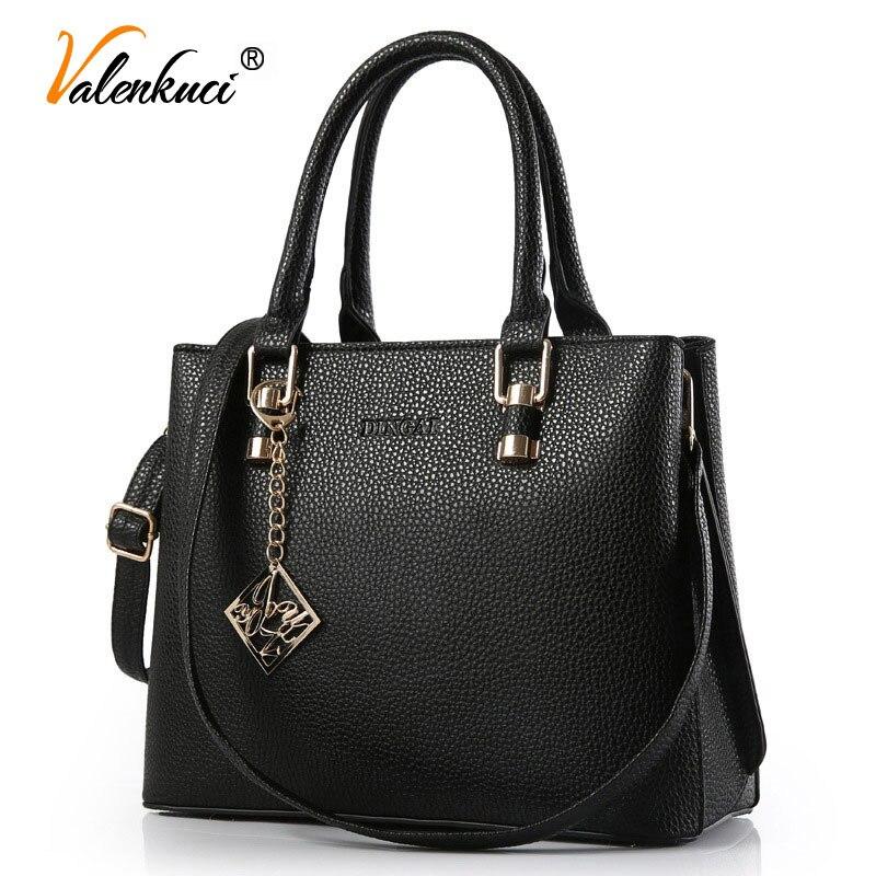 ФОТО Valenkuci women messenger bags for women leather handbags high quality Crossbody Bag bolsa vintage Shoulder Bag femininas SD-405