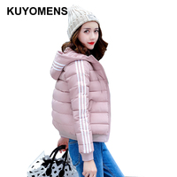 KUYOMENS New Autumn Winter Jacket Coat Women Parka Woman Clothes Solid Long Jacket Slim Women S