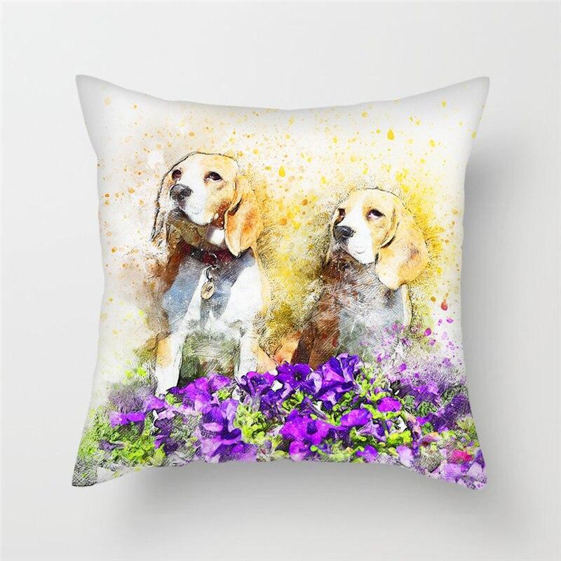 Fuwatacchi Multi-Color Cartoon Style Cushion 1