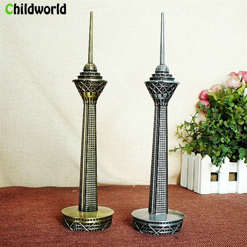 2019 New Home Furnishings Iran Milad Tower Metal Crafts Model  Building Figurine Home Decoration Accessories Free Shipping2019 New Home Furnishings Iran Milad Tower Metal Crafts Model  Building Figurine Home Decoration Accessories Free Shipping