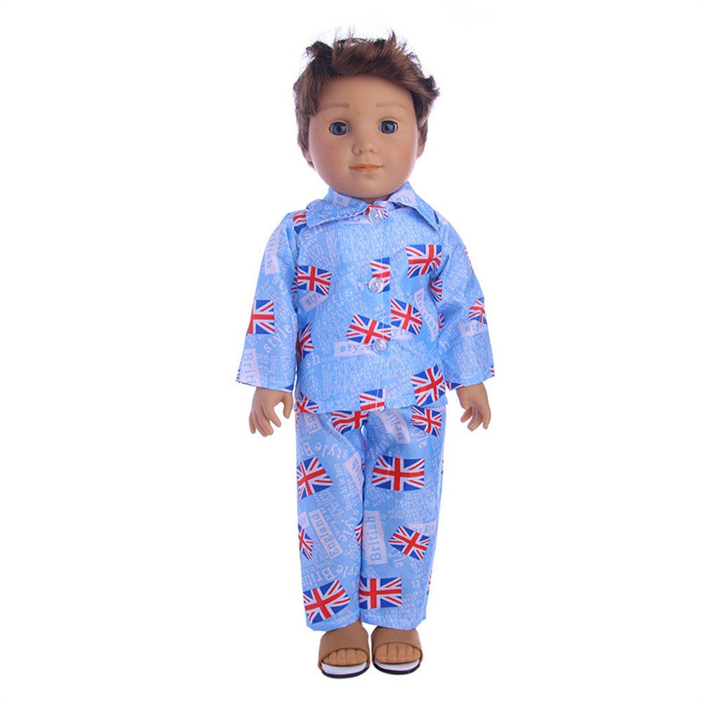 High-Quality Clothes & Pants For 18 inch Our Generation American Girl Doll the United States girls doll clothing