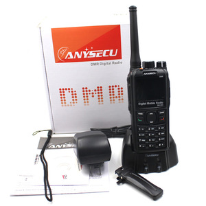 Image 5 - Walkie talkie anysecu dmr, DM 960 tdma, ham radio dm960 vhf uhf com gps, slot dupla, compatível com mototrbo cabo usb usb