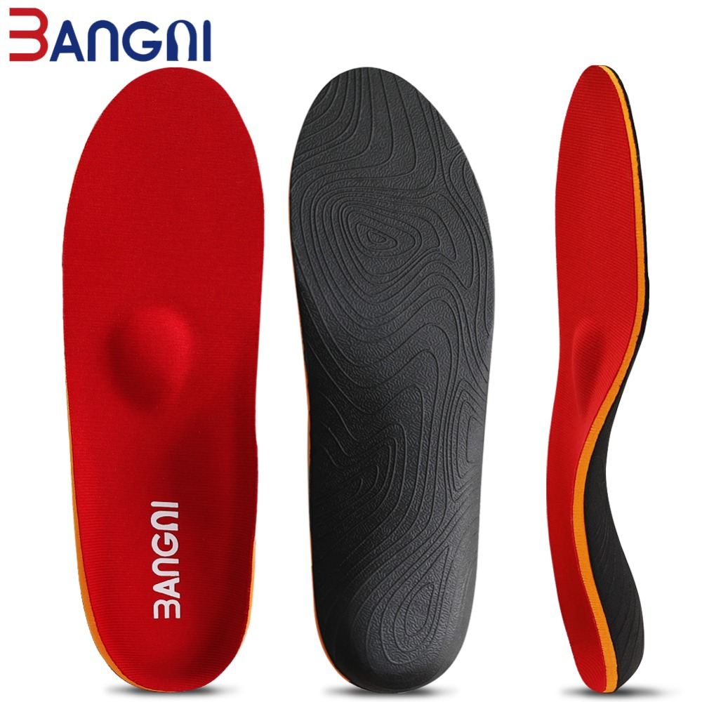 3ANGNI Orthotic Arch Support Shoe Accessories Insert Orthopedic Moderate Flat Feet Insole Heel Pain Plantar Fasciitis Men Woman