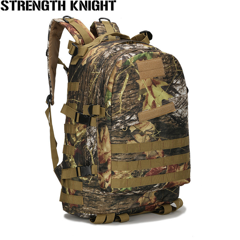 Mountaineering Bag 3D Military Backpack Nylon Waterproof Male Female Backpack Army Fans Camouflage Travel Bag X45 60l men women military backpacks waterproof nylon fashion male laptop backpack casual female travel rucksack camouflage army bag