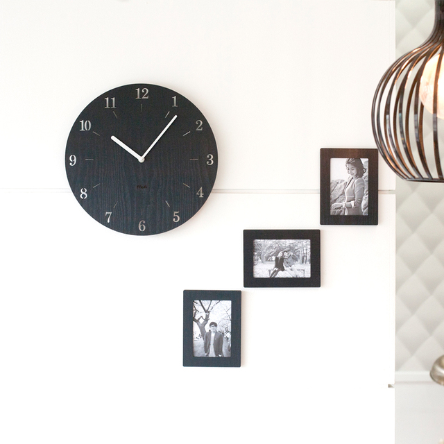 Artistic Silent Retro Wall Clock Free Shipping Worldwide