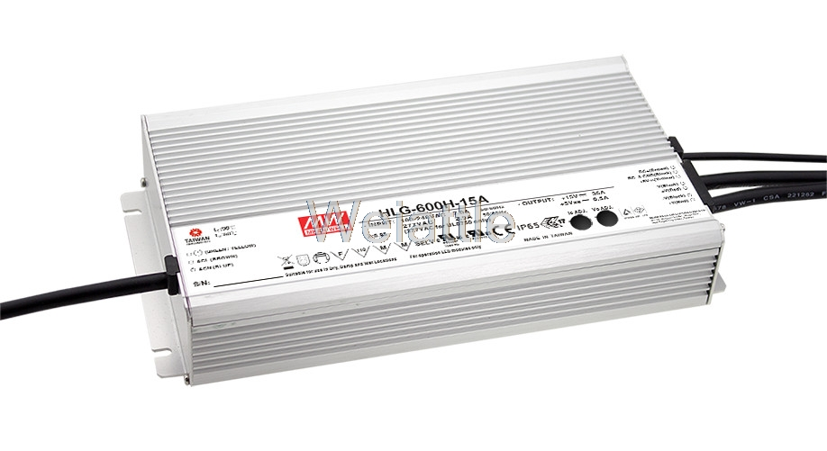 MEAN WELL original HLG-600H-48A 48V 12.5A meanwell HLG-600H 48V `600W Single Output LED Driver Power Supply A type mean well original hlg 320h 48a 48v 6 7a meanwell hlg 320h 48v 321 6w single output led driver power supply a type