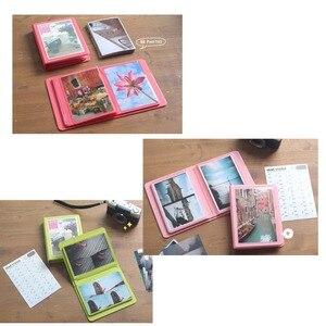 Image 4 - 32 Pockets Colorful 3X5 Mini Single Photo Album Picture Case Storage for 5 Inch Photo / Instax WIDE Film