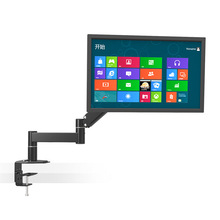 """Mesa Rotativa 13 """"-24"""" LED LCD TV Montar Titular Monitor de Computador Retrátil Braço VESA 75/100 Carga 5.5kgs Distância da parede 630mm"""