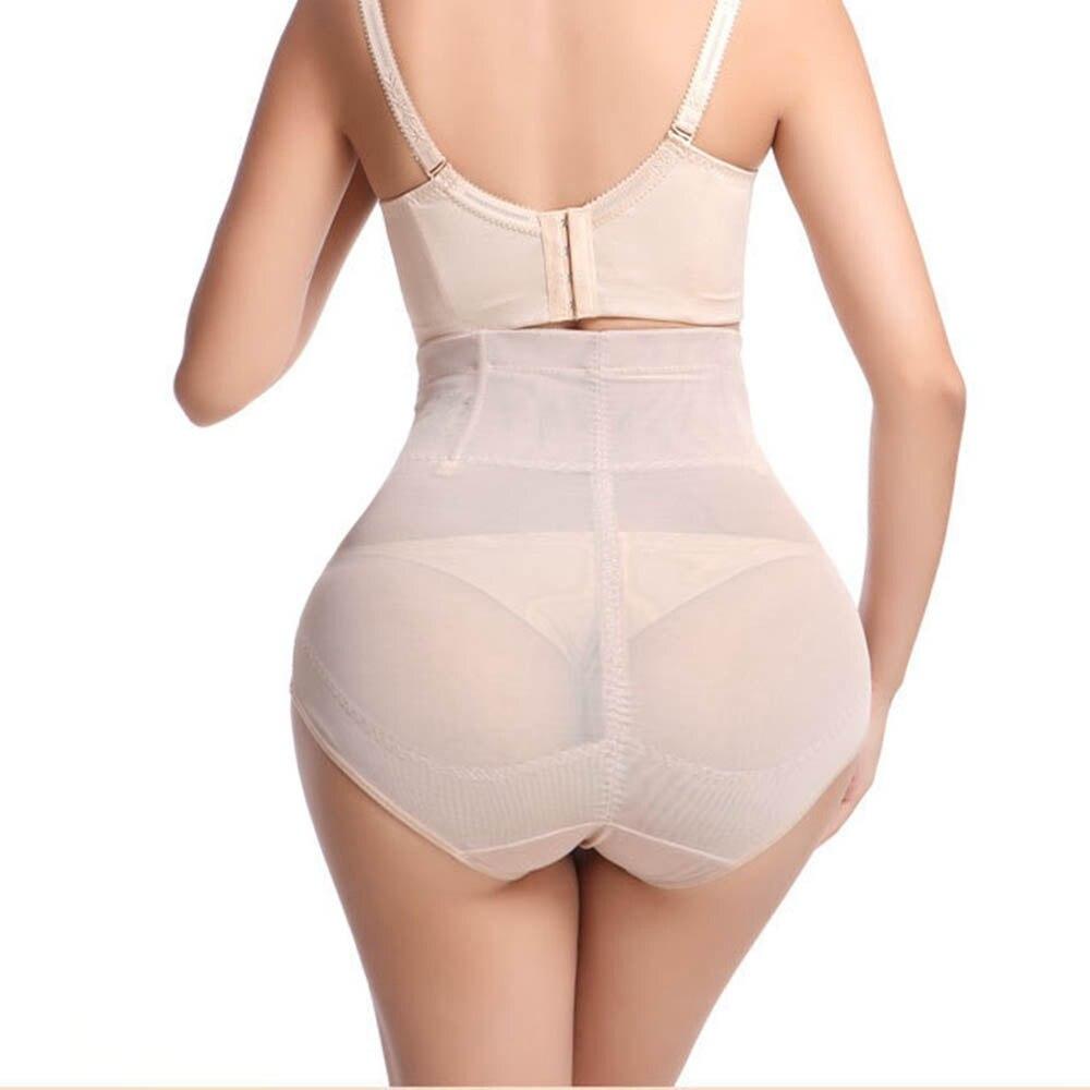 Shaper Women Waist Trainer Body Seamless Women High Waist Slimming Tummy Control Knickers Pant Briefs Polyester Blends Underwear in Control Panties from Underwear Sleepwears