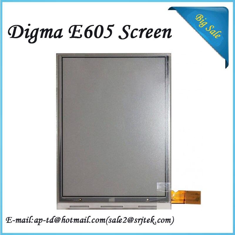 NEW Original E Ink Pearl HD Display for Digma E605 Ebook eRader E-Ink LCD Screen Glass Panel E-book replacement parts