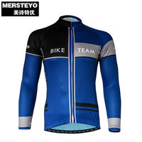 Mersteyo Breathable Cycling Jersey Long Sleeve Summer Spring Men S Shirt Bicycle Wear Racing Tops Quick