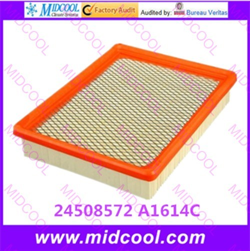 O envio gratuito de alta qulality filtro de ar filtro de cabine 24508572 A1614C