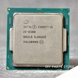 إنتل كور رباعية النواة I5-6500 I5 6500 LGA 1151 3.20GHz 6M RAM DDR3L-1333 ، DDR3L-1600 DDR4 GPU HD530