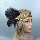 Wedding Headband Bla...