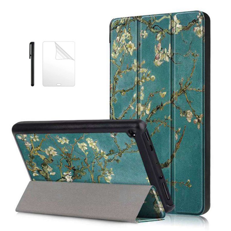 Case Protector-Case Smart-Cover 7-Tablet Amazon for New Slim-Stand Film--Pen Fire
