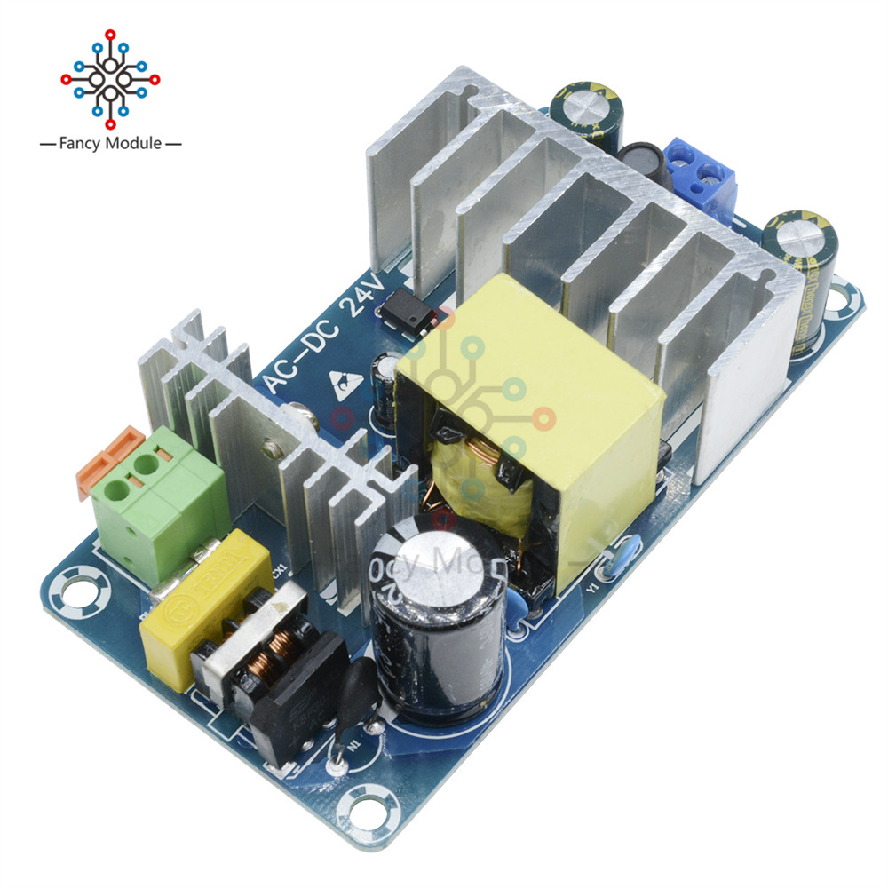 <font><b>4A</b></font> To 6A <font><b>24V</b></font> 50HZ/60HZ 100W Switching Switch Power Supply Board AC-DC Power Module image
