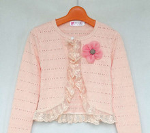 Свитер для девочек New Lace Cotton