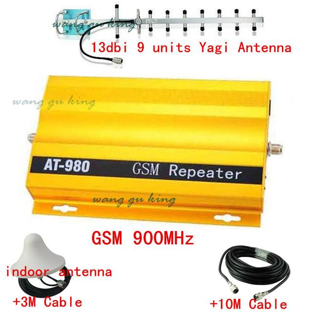 13db yagi + 900 Mhz GSM Repetidor de Señal de Móvil, teléfono móvil Amplificador de Señal GSM900Mhz Amplificador de Señal 2g de Comunicación Móvil