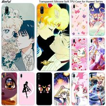 Anime Sailor Moon Soft Silicone Phone Case for Huaw