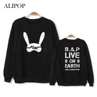 Youpop KPOP BAP B A P 2016 WORLD TOUR Album Hoodie K POP Hoodies Clothes Pullover