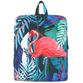 Tropical Rain Forest Koala And Flamingo Printing Backpack Cartoon Animal Backpack School Bags For Teenager Girls And Boys