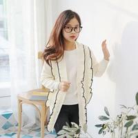 Brand Girls Cardigan Children Thin Sweater Baby Fashion Cardigan Teenager Coat New 2019 Spring Cored Rabbit Velvet Yarn,#3883