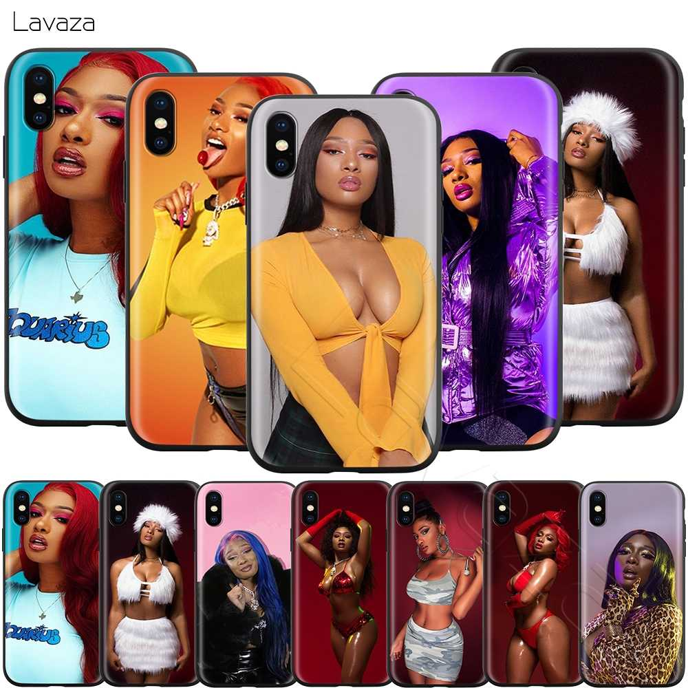 Чехол Lavaza Megan Thee Stallion для iPhone 11 Pro XS Max XR X 8 7 6 6S Plus 5 5S se