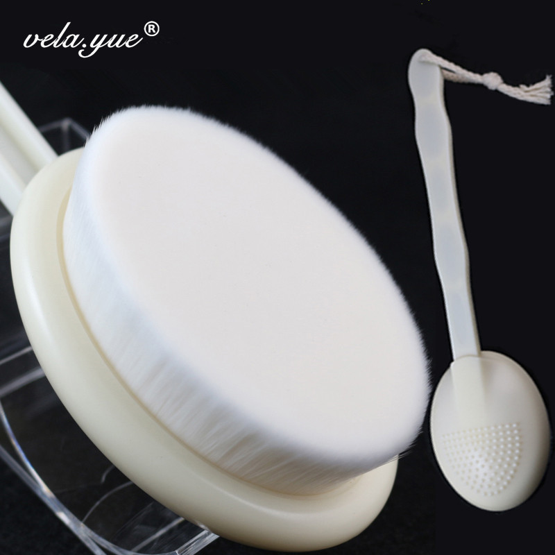 Full Body Clean Brush  Bath Brush Face Beauty Brush Deep Pore Clean Body Care Massager Brush Dismountable Long Handle deep face cleansing brush facial cleanser 2 speeds electric face wash machine