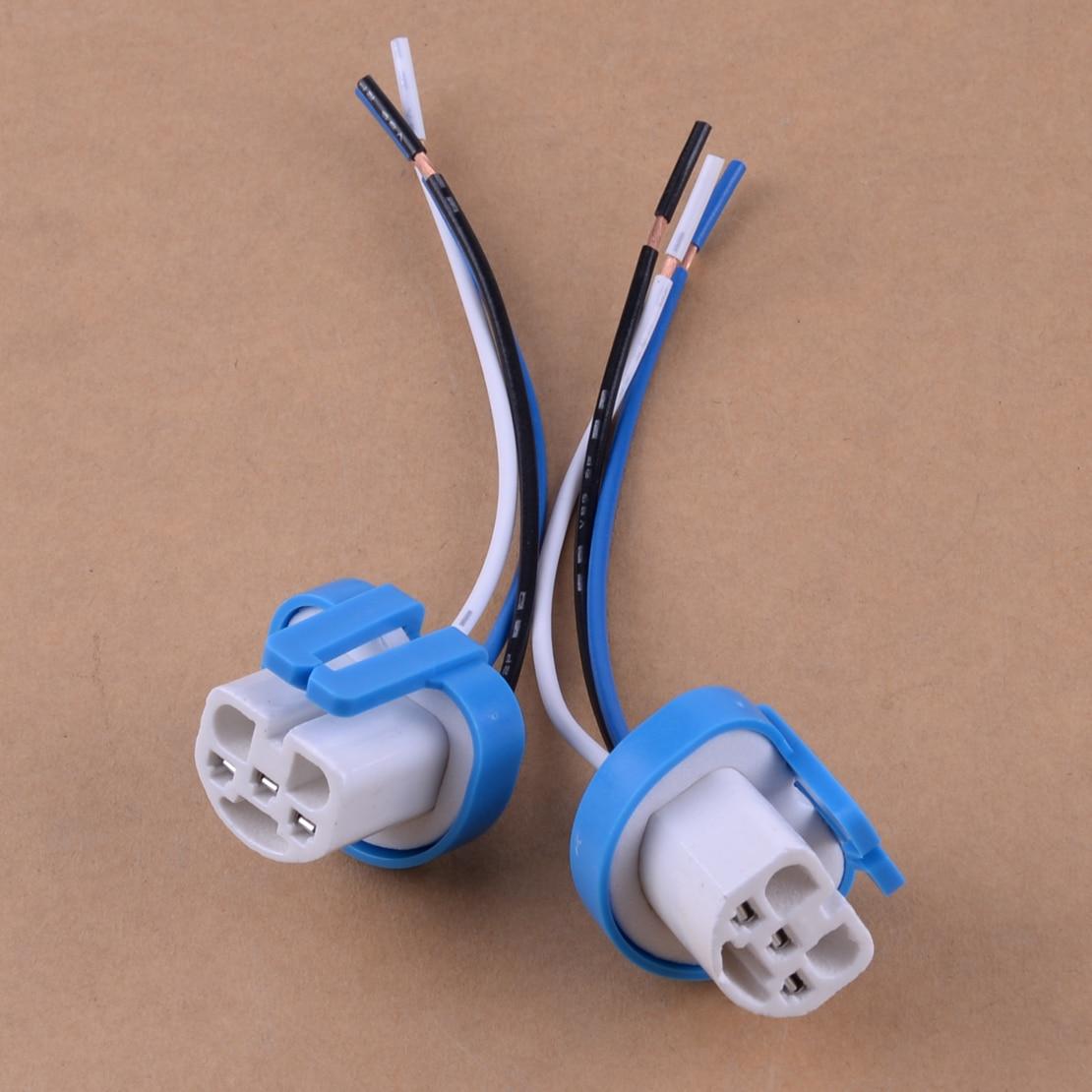 dwcx car auto 2pcs 9007 9004 headlight wiring adapter. Black Bedroom Furniture Sets. Home Design Ideas