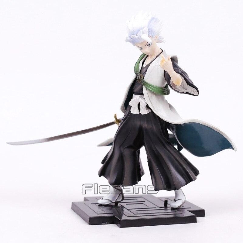 Anime BLEACH Hitsugaya Toushirou PVC Figure Collectible Model Toy 18cm