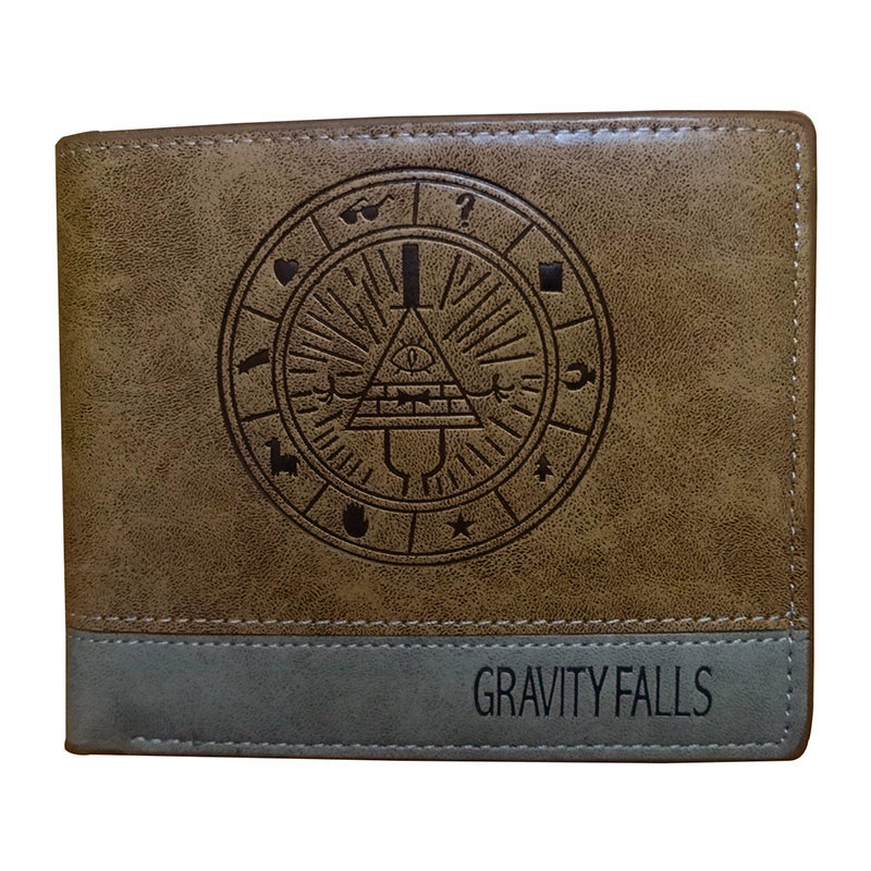 Cute Cartoon Gravity Falls Women Wallets Anime Cartoon Purse PU Leather Card Holder Dollar Zipper Coin Pocket Wallet carteira lovely gravity falls cute cartoon wallets anime pu leather card holder purse dollar price creative gift kids zipper short wallet