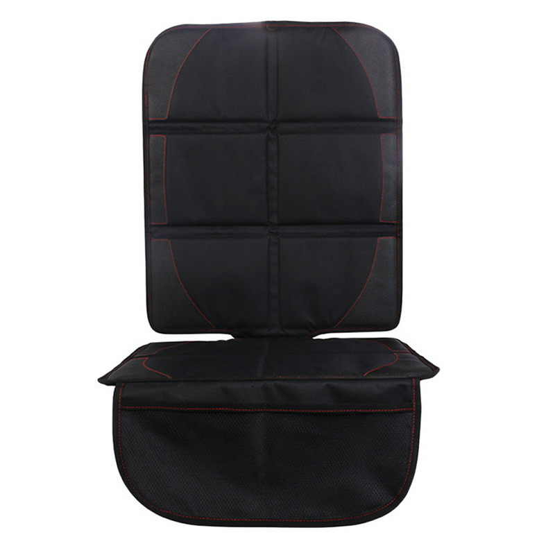 Black Universal Polyester PU <font><b>Car</b></font> <font><b>Seat</b></font> Protector Mat Auto <font><b>Car</b></font> Children Baby <font><b>Seat</b></font> Cover Protection Cushion for <font><b>Car</b></font> Chairs