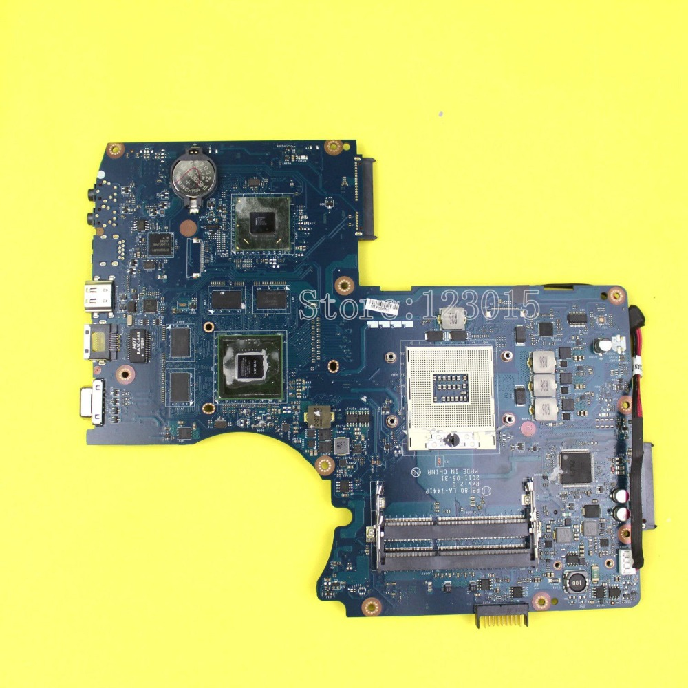 X93S K93SM X93SM for ASUS laptop motherboard PBL80 LA-7441P mainboard REV 2.0 GT540M 2GB 100% Tested x93s k93sm x93sm for asus laptop motherboard pbl80 la 7441p mainboard rev 2 0 gt540m 2gb 100% tested