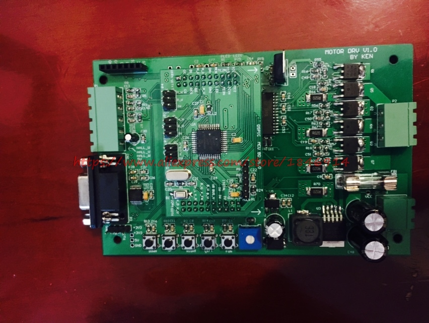 Microchip DSPIC MCLV (bldc,pmsm)Foc  Sine Wave Brushless Motor Development Board