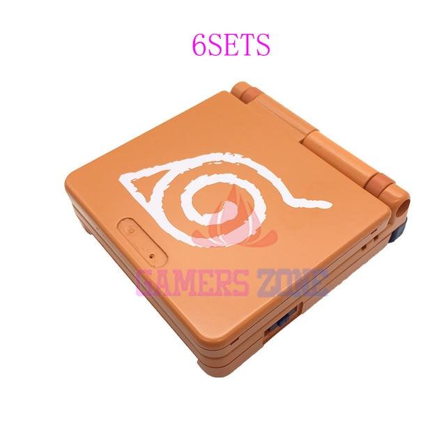 6 Juegos Para Nintendo Game Boy Advance Sp Carcasa Para Gba Sp