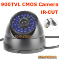 "1/4"" CMOS Dome 900TVL CCTV Camera Color Image 48 Leds With IR-CUT Night Vision Waterproof/Vandal-proof Home Surveillance Camera"