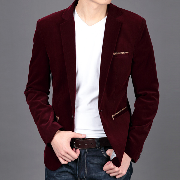 Popular Red Velvet Blazer-Buy Cheap Red Velvet Blazer lots from