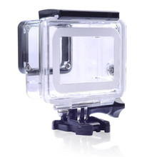 New 45M Underwater Waterproof Housing Case Mount For Gopro Hero 5/6 Black Edition telesin cool black waterproof case shell 45m underwater housing bacpac touched lcd screen backdoor cover for gopro hero 7 6 5