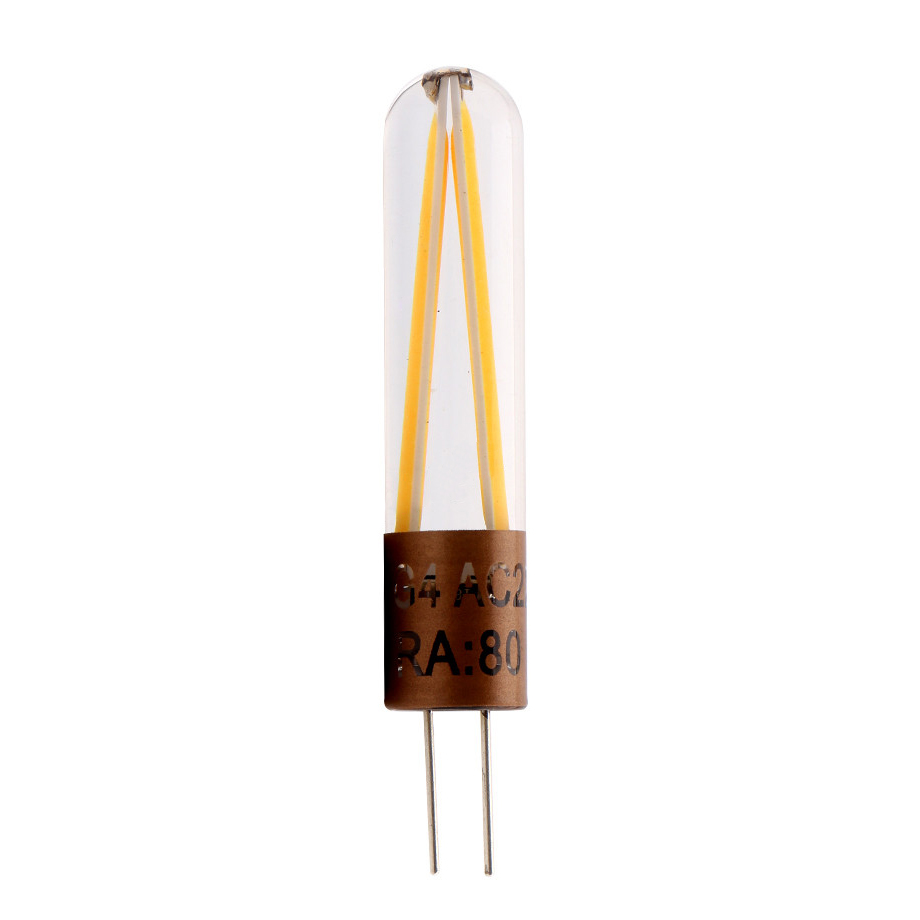 10x G4 COB Filament LED Bulbs Home Room Light Chandelier Lamp AC 220V 2700K-3200K Warm White
