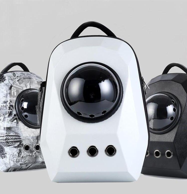 Wysokiej jakości transportu torba dla kota oddychające bubble astronauta podróży duża przestrzeń kapsułki pies plecak dla zwierząt domowych w Przewóz psów od Dom i ogród na  Grupa 1