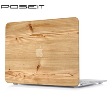 Wood pattern Laptop case cover For Apple Macbook 13 Pro touch bar A1989 A1706 pro 15Touch Bar A1707 A1990  Case Cover