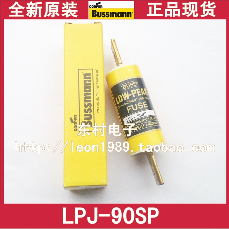 [SA]US imports fuse BUSSMANN LOW-PEAK delay fuse LPJ-90SP 90A 600V стоимость