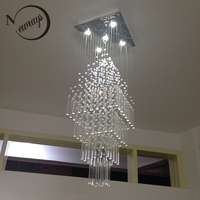 Nordic empire crystal retro classical modern chandelier with GU10 5 lights for living room bedroom hotel lobby restaurant hall