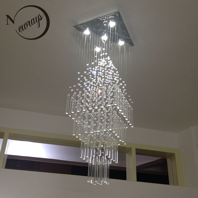 US $290.18 29% OFF|Nordic empire crystal retro classical modern chandelier  with GU10 5 lights for living room bedroom hotel lobby restaurant hall-in  ...