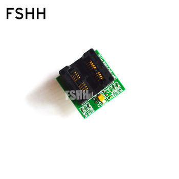 цена на CNV-SPI/S08A-V1.01 Programmer Adapter SOIC8 SOP8-DIP8 Adapter IC test socket of wide-body 200mil